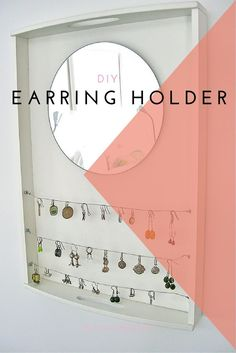 Earring Holder - DIY