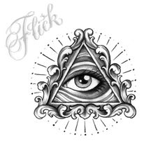 1 Sketch Tattoo Design, Tattoo Sketches, Tattoo Drawings, Tattoo Designs, Third Eye Tattoos, All Seeing Eye Tattoo, Hand Tattoos, Small Tattoos, Sleeve Tattoos