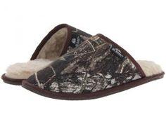 M&F Western Fleece Slide Slipper (Mossy Oak Camo) Men's Slippers