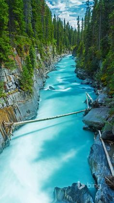 Numa Falls in Kootenay National Park, British Columbia, Canada - Safari Photography Vancouver British Columbia, The Places Youll Go, Places To See, Places To Travel, Travel Destinations, Visit Canada, Rocky Mountain National Park, Canada Travel, Canada Trip