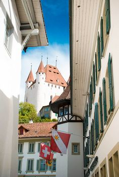 Thun // Traveling Through Switzerland