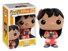 Amazon.com: Funko POP Disney: Lilo & Stitch - Lilo Vinyl Figure: Toys & Games