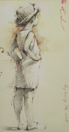 Andre Kohn, Daydreaming Little Artist.