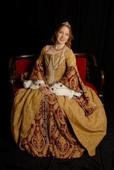 Ladies Tudor Renaissance Gown by theNerdyHooknNeedle on Etsy, $350.00 A STEAL!!!