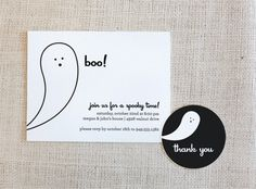 FREE Printable Halloween Invites