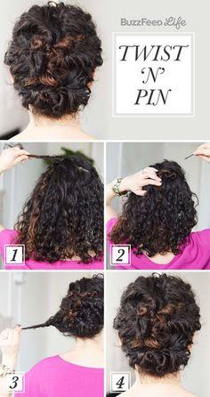 1. Twist. 2. Pin. 3. Repeat.