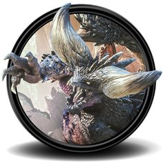 Monster Hunter World Icon (5) by Malfacio