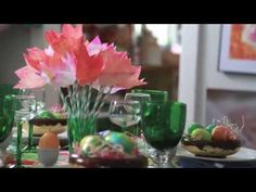HOW TO: Easter Tulips Using Coffee Filters
