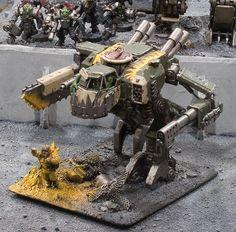 Burnaz Bot - Deff Dread - Orks 40k