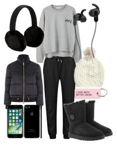 """Down-town walk-dtz."" by andreea-cassandra on Polyvore featuring interior, interiors, interior design, home, home decor, interior decorating, MANGO, UGG, Topshop and JBL"