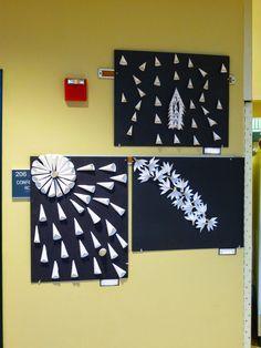 Paper Relief Sculptures -- The Calvert Canvas: Adventures in Middle School Art! High School Art, Middle School Art, Mystic Messenger Zen, Outdoor Workout, 7th Grade Art, Fourth Grade, Sculpture Lessons, Mobiles, Ecole Art