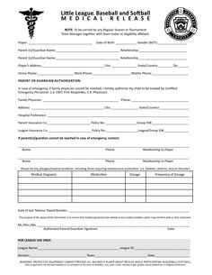 Printable Medical Release Form For Children Delectable Giovanni Mastrocola Giovannimastroc On Pinterest