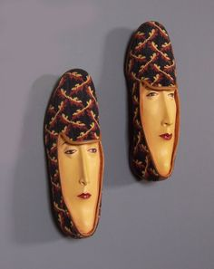Shoe Sculptures by Gwen Murphy