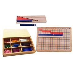 Description: - Wooden Montessori Mathematics Material - Additon and Subtration Board + Maths Beads Counting Number Kids Preschool Children Educational Toy - Include 1 addtion and s Educational Toys For Toddlers, Montessori Math, Pre School, Mathematics, Counting, Material, Boards, Activities, Children