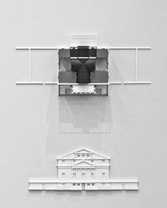 Villa Foscari Model / Peter Eisenman and Matt Roman