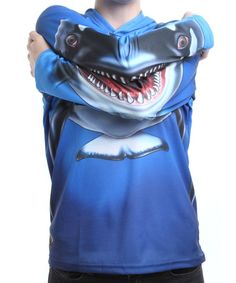 Take a look at this Whale Hooded Tee - Toddler & Kids by Mouth Man on #zulily ! #Fall Kids' Essentials!