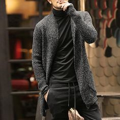 Cheap mohair sweater men, Buy Quality fashion men sweater directly from China men fashion sweater Suppliers: Mens Sweater Long Sleeve Cardigan Males Pull style cardigan Clothings Fashion Thick warm Mohair Sweaters Men england style hot Cardigan Outfits, Cardigan Fashion, Long Cardigan, Mens Sweater Outfits, Mens Fashion Sweaters, Men Sweater, Cardigan Sweaters, Fashion Shirts, Warm Sweaters