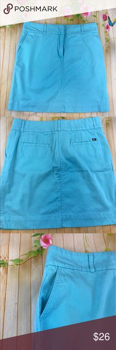 Vineyard vines blue skirt Nice blue skirt in euc no stains size tag was cut size 10 please use the  measurements  that I have provided to ensure it is the proper fit Vineyard Vines Skirts Midi