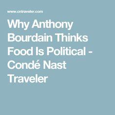 Anthony Bourdain Madrid Travel Guide