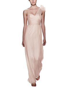 Take a look at this gorgeous Amsale bridesmaid dress in blush fabric! Available in sizes and tons of colors at Brideside. Shop online, try at home or visit one of our showrooms! Making A Wedding Dress, Unique Dresses, Dream Wedding Dresses, Amsale Bridesmaid, Pink Bridesmaid Dresses, Bridesmaids, Wedding Dress Patterns, Dress First, Dream Dress