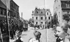 Marschieren, 1937.