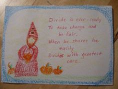 Schooling from the heart: Math Gnome-li Love