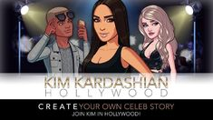 Create your own aspiring celebrity and rise to fame and fortune!