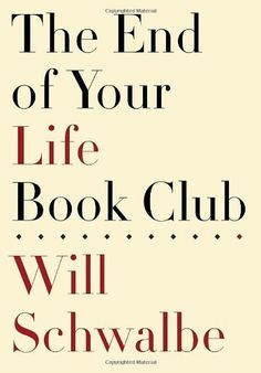"""This is the inspiring true story of a son and his mother, who start a """"book club"""" that brings them together as her life comes to a close. Over the next two years, Will and Mary Anne carry on conversations that are both wide-ranging and deeply personal, prompted by an eclectic array of books and a shared passion for reading."""