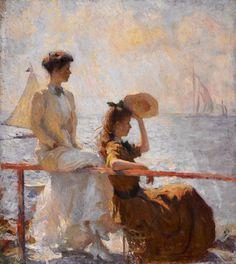 Summer Day, Frank Weston Benson