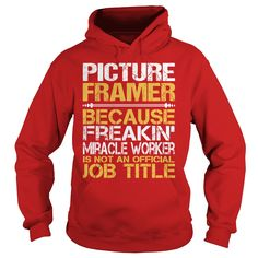 Awesome Tee For Picture Framer T-Shirts, Hoodies. BUY IT NOW ==► https://www.sunfrog.com/LifeStyle/Awesome-Tee-For-Picture-Framer-97348572-Red-Hoodie.html?id=41382