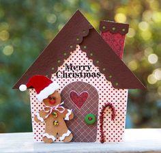 Gingerbread House  {November CupCards to Go} - Scrapbook.com