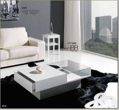 mesa de centro box rectangular -