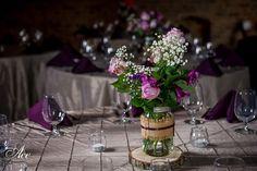 chefs market wedding reception, houston station wedding, destination nashville wedding, purple, upscale rustic
