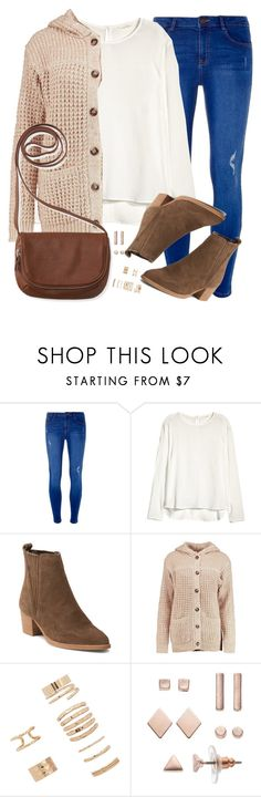 """""""I feel a little lost in this world"""" by rocketsheep ❤ liked on Polyvore featuring Dorothy Perkins, H&M, Boohoo, Forever 21, LC Lauren Conrad, Aéropostale, lyrics and youmeatsix"""