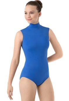 Sleeveless Mock Neck Dance Leotard | Balera™ weissman $10.95-$12.95