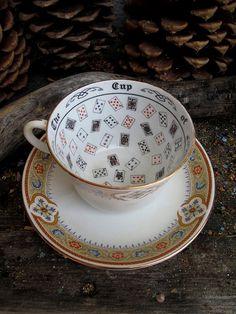 Rita's Vintage Fortune Teller's Tea Cup  by RitaSpiritualGoods, $128.00