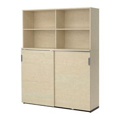 IKEA - GALANT, Storage combination w sliding doors, birch veneer, , Limited Warranty. Read about the terms in the Limited Warranty brochure. Ikea Storage Cabinets, Tall Cabinet Storage, Filing Cabinets, Small Office Furniture, Comfortable Office Chair, Drawer Unit, Office Storage, Home Office Design, Sliding Doors