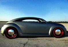 VW bug chop top beetle, and this is how a bug should look!