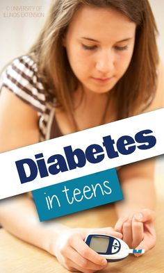 Great resource for teens with diabetes!