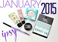 January 2015 ipsy Glam Bag Review