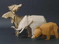 Twitter / origami_kids: Origami Animals - Photo an ...