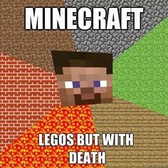 Minecraft Legos but with DEATH