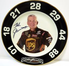 DALE JARRETT NASCAR COMPETITOR COLLECTOR PLATE 1000 out of 2500 - Signed