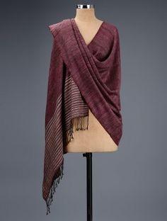 Silk Wool, Indian Fashion, Pakistani, Hand Weaving, Shawl, Textiles, Natural, Stuff To Buy, Dresses