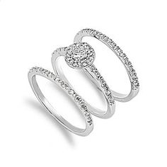 3 Piece Engagement Ring $54.95