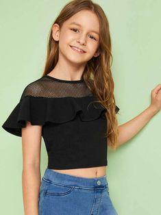 Preteen Girls Fashion, Teenage Girl Outfits, Kids Outfits Girls, Cute Girl Outfits, Girls Fashion Clothes, Teen Fashion Outfits, Cute Fashion, Trendy Outfits, Fashion Kids