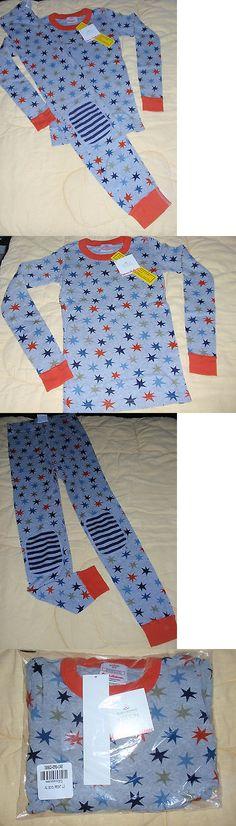 Sleepwear 84544: Hanna Andersson Organic Long Johns Pajamas Navy ...
