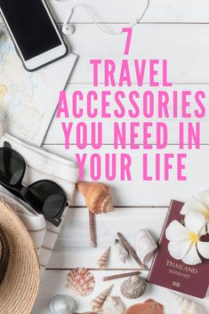7 Travel Accessories You Need in Your Life - Adventures Of A Blonde Girl If you're a traveler, you definitely need to c. Packing Tips For Travel, Travel Essentials, Packing Hacks, Packing Lists, Travel Gadgets, Travel Hacks, Travel Goals, Travel Style, Road Trip Snacks
