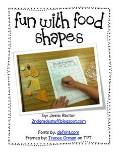 Use this fun, FREE activity to allow students to explore shapes in real-world settings and explore their attributes using the recording sheet.