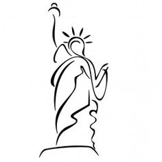 Tatouage statue de la libert recherche google id es for Statut illustrateur